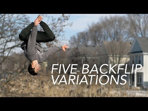 5 Easy Backflip Variations that are still Cool