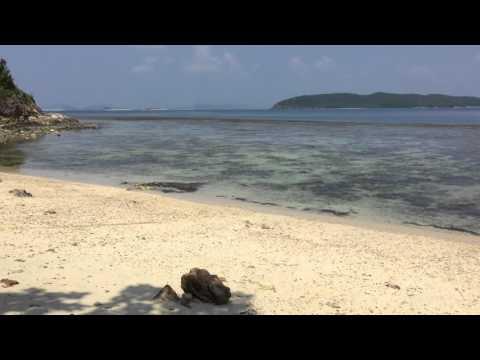 Busuanga Beach near Huma Island Resort