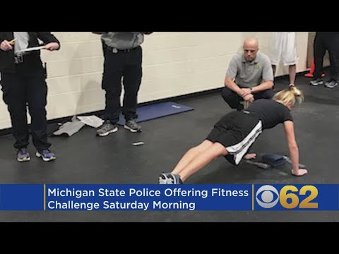 Michigan State Police Fitness Challenge