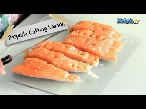 How to Properly Cut a Salmon Filet