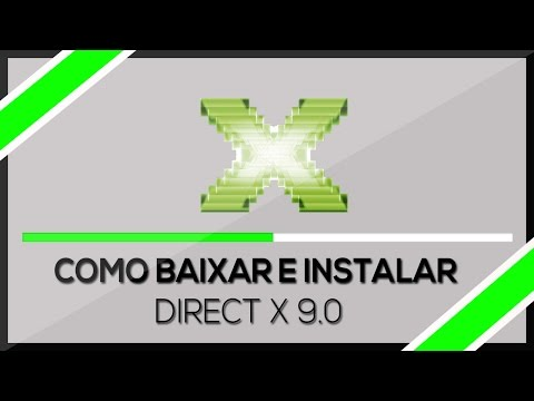 Como baixar e Instalar ➜ Directx 9.0 Windows 7/8/8.1/10 (HD) 2018