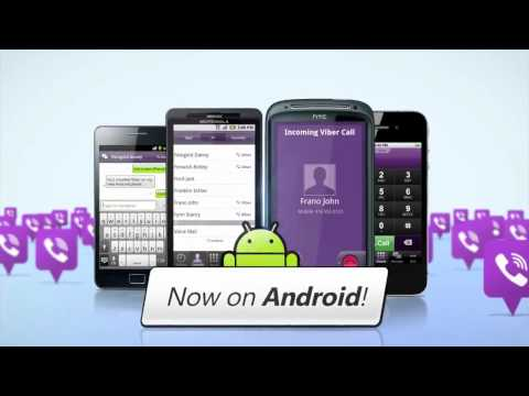 Viber for Android - Free calls and text messages with Viber.mov