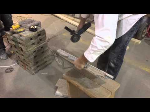 Cutting Silverwood Stone Drystack Panel To Length