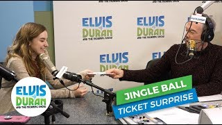 Jingle Ball Ticket Surprise   Elvis Duran Exclusive