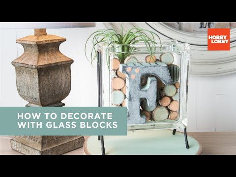 Decorate with Glass Blocks - Everyday Inspiration