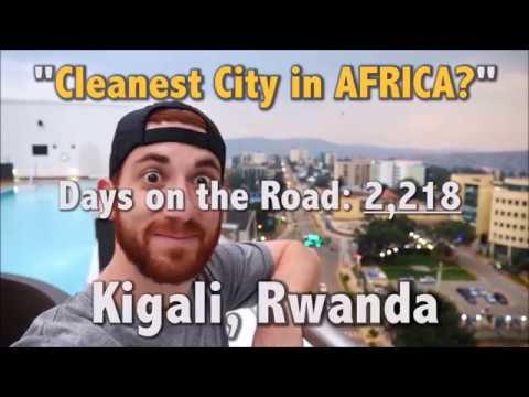 Cleanest City in Africa? KIGALI, RWANDA