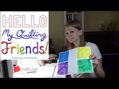 Crochet on Vacation, Learning to Watercolor, and more! Episode 61