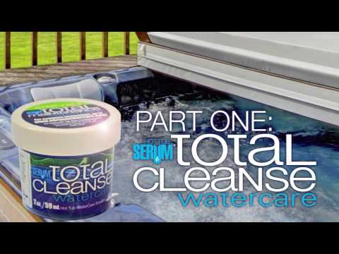 Hot Tub Serum- Total Cleanse Spa Water Care System