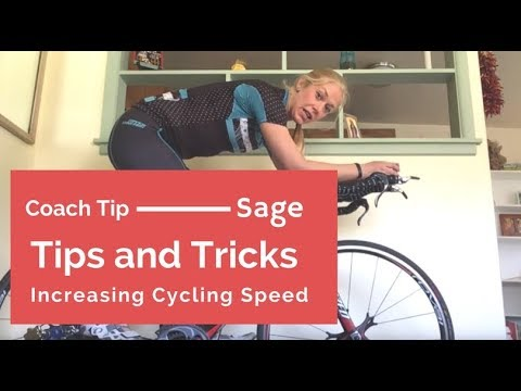 Tips and Tricks to Increasing your Triathlon Cycling Speed- Coach Sage