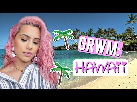 GET READY WITH ME IN HAWAII !! | BODMONZAID