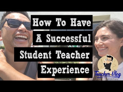 Teacher VLoG - How To Have A Successful Student Teaching Experience