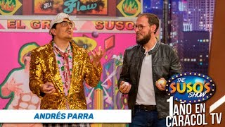 Andrés Parra en The Suso's Show (Aniversario) - Caracol TV - Parte 1