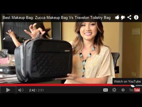 Best Makeup Bag: Zuca Makeup Bag Vs Travelon Toiletry Bag