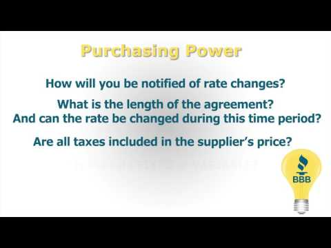 Choosing an Electric Supplier in PA
