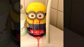 My Minion Toy Started Bleeding.. (help)