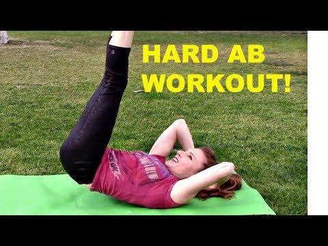 Advanced Ab Exercise Workout With Coach Meggin (Gymnastics Coach)