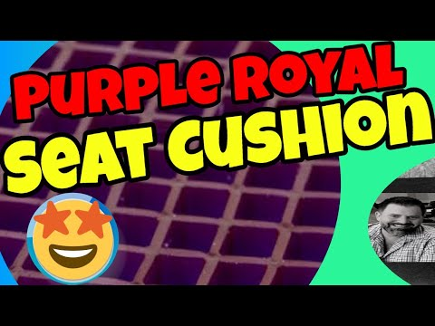 Royal Purple Cushion review from a Branding Speaker and Author.