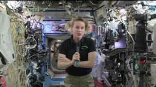 NASA Astronaut Talks to Students about Life Aboard the Space Station