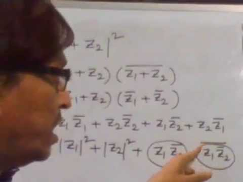 Complex Number - Properties of Conjugate and Modulus