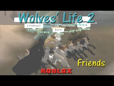 Roblox - Wolves' Life 2 - Friends VII - HD