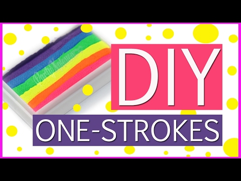 DIY Custom Made One-Stroke Face Paints