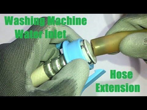 Washing Machine Water Inlet Hose/Pipe Extension (without cutting)