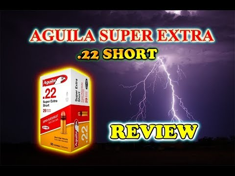 REVIEW: Aguilla 22 short.  Live Testing!