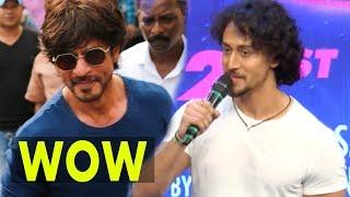 Tiger Shroff REACTS On Shah Rukh Khan's ACTION Skills