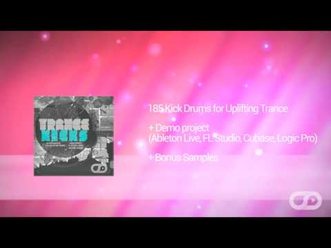 Trance Kicks by Myloops - 185 Kick Drum Samples for Uplifting Trance