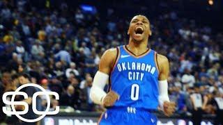 Russell Westbrook not skipping a beat after MVP season   SportsCenter   ESPN