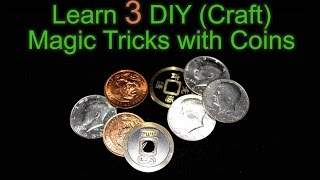 Download Learn Three Easy Magic Tricks with Coins - DIY Craft Projects Video