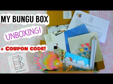 My Bungu Box Japanese Stationery Subscription Box UNBOXING