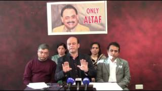 Press Conference of Coordination Committee of MQM - 25 March 2017