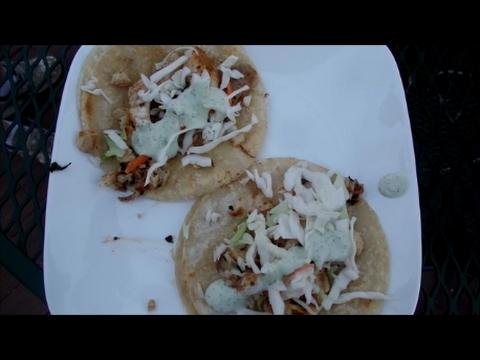 Fish Tacos on Blackstone