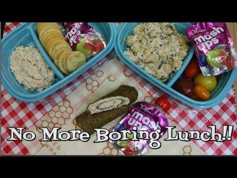 Tuna Salad Three Ways ~ Kid Friendly ~ Back to School Lunch Ideas  ~ Noreen's Kitchen