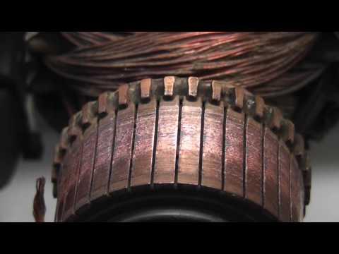 Open DC Motor