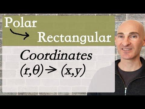 Convert from Polar to Rectangular Coordinates