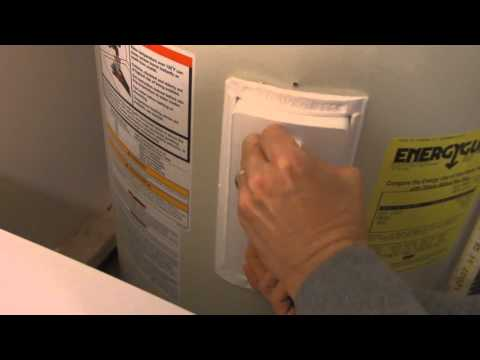How to Reset a Water Heater Shut-off Button