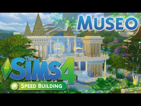 UNO STRANO MUSEO!-The sims 4 ITA-Speed Building
