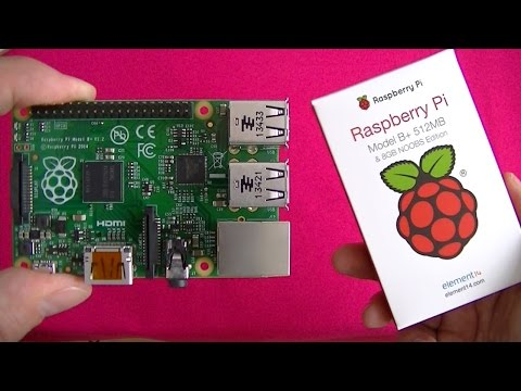 The Raspberry Pi - Model B+