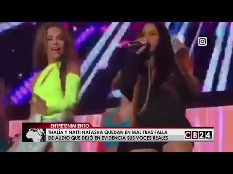 Xxx Mp4 Thalía Y Natti Natasha Se Quedan Sin Playback En Medio Concierto 3gp Sex