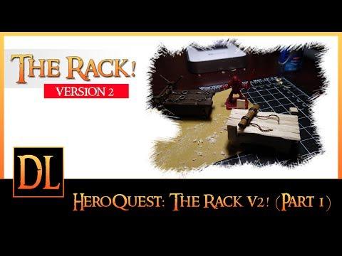 Hero Quest - The Miniature Rack Project Version 2 (Part 1)