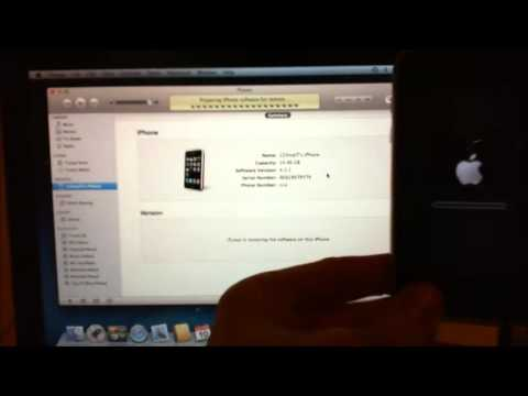 How to restore iPhone firmware ipsw file on a Mac
