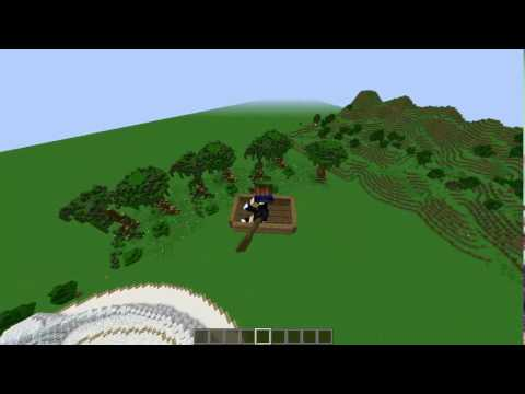 Minecraft How To: Make boats float in air