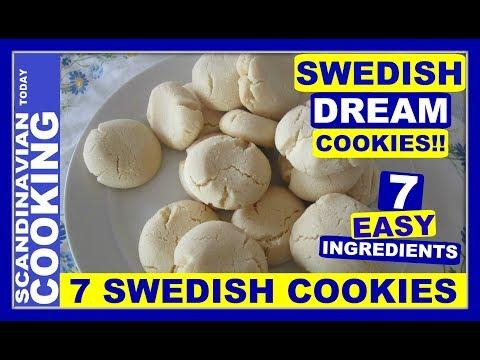 How To Make Easy Swedish Dream Cookies 🍪Drömmar