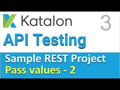 Katalon Studio Sample REST Project 3 | API Chaining in REST Part-2