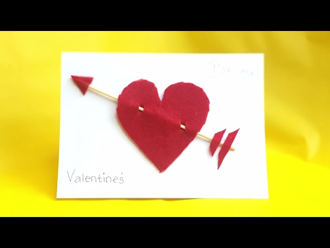 Diy Valentine S Day Pop Up Card Diy Anniversary Cards Gift Idea
