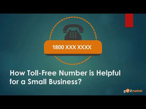 Know How Toll Free Number is Helpful for a Small Business?