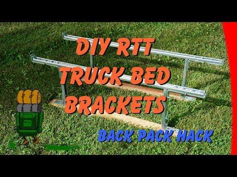 DIY RTT Truck Bed Brackets