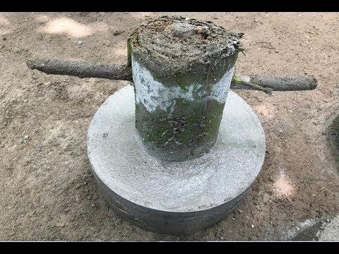 Making brick the primitive way